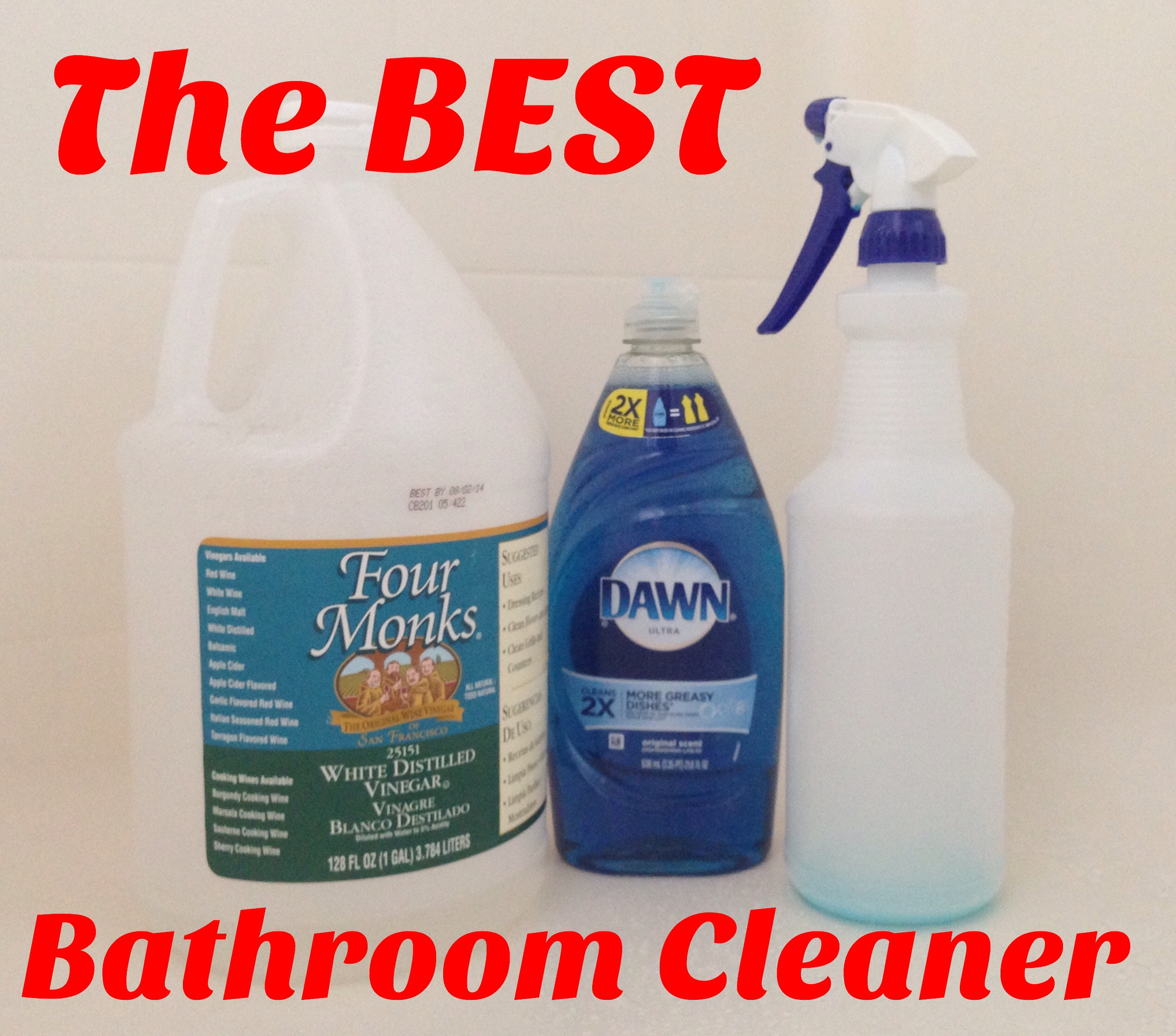 Best Cleaner For Bathroom Of The Best Bathroom Cleaner Mismashedmom